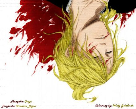 Kira Izuru and blood... by willy-goldfinch