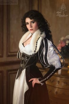The Witcher books - Yennefer of Vengerberg_4 by GreatQueenLina