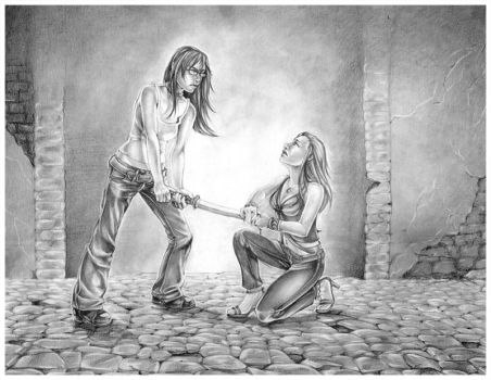 The Lover's Fight by Rvaya