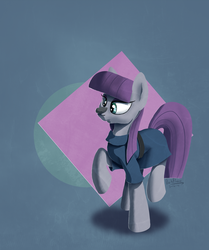 Maud Pie and her second best friend by DarkFlame75