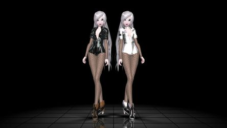 Last Models HELLO BI+CHES W.I.P by MegurineSempai