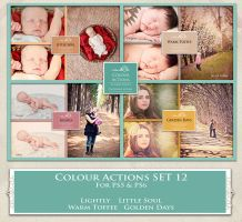 ATP. Color Actions SET 12 by AllThingsPrecious