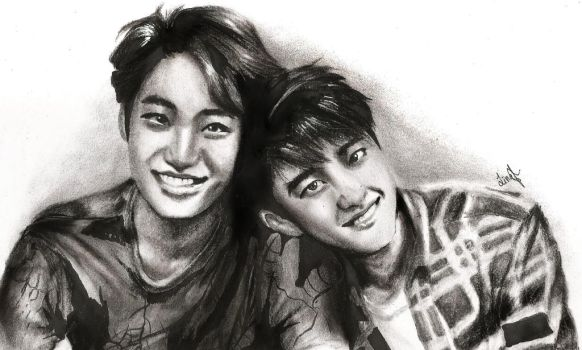 Kaisoo - Just The Two Us by marceldyo99