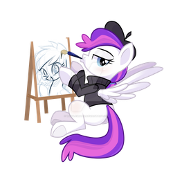 Blank Canvas Bronycon 2016 by Wicklesmack