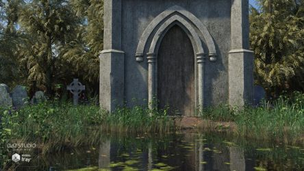Flooded Cemetery (img03) by Andrey79