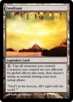 Geofront for MTG by Warrior-Within
