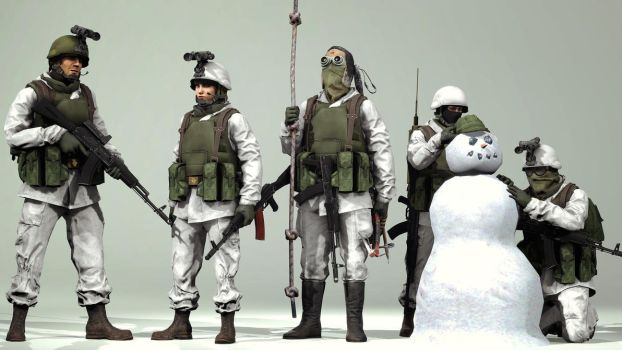 Tchvonians of the snow by Tbonemeister