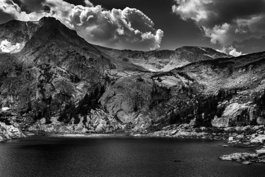 Shadowplay on Bluebird Lake by Ben754