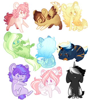 30 point adopts+10 for a hairstyle/Closed by Marty-Draws