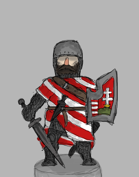 Hungarian Man-at-arms by renato8881