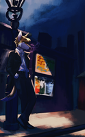 Downtown by captyns