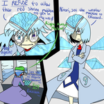 Cirno's/Dr.Brainfreeze's coldheartedness by Glitched-Irken