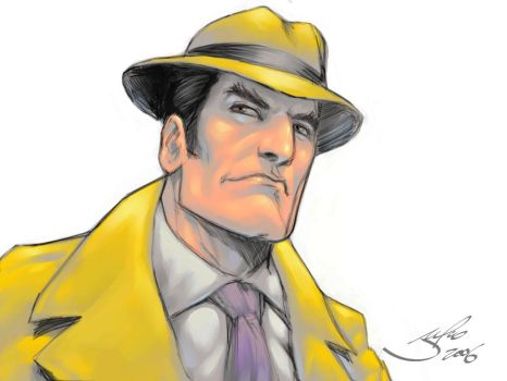 Dick Tracy by julioferreira