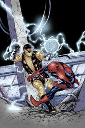 Spider-Man Thursday 13 - Livesay inks Naymoon colo by SpiderGuile
