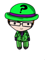 Gotham Lovers: the riddler by Danielle-chan