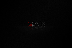 QDark wallpaper by LuxieBlack