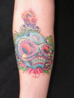 Sugar Skull by tattoosbysteve