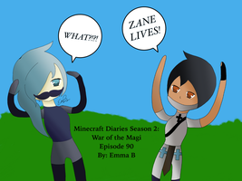 ZANE LIVES  by LizzieCraft