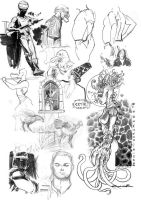 Misc. Sketches by Cinar