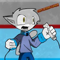 Vgcats: Leo and Wii Remote by explosion-sauce