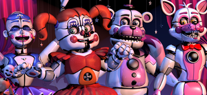 Funtimes Arrived! - [FNaF SL Blender Poster] by ChuizaProductions