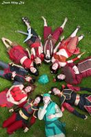 Avatar: The Last Airbender Earth, Air, Fire, Water by GoldenMochi