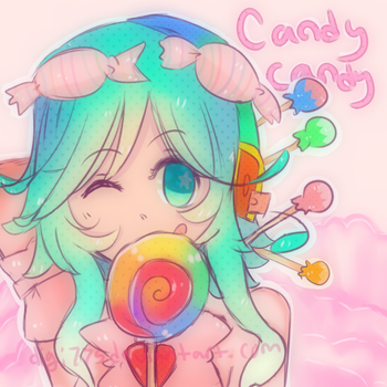 Candy candy Gumi by digi775