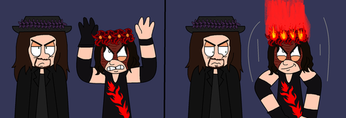 Flower Crown Series: The Brothers Of Destruction by MissMizerableRollins