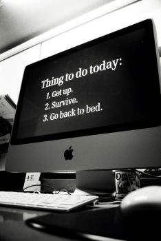 Thing to do Today by gustideanzy
