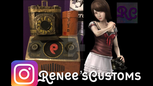 Fatal Frame 2 Mio cosplay props by ReneesCustoms