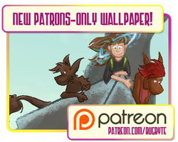 January 2015 Patrons-Only Wallpaper by bugbyte