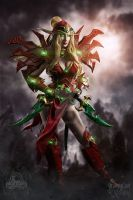 Valeera Sanguinar cosplay by GrumpyCait