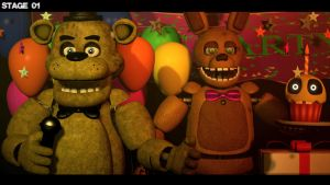 The Good Old Times. [SFM/FNaF] by FBanimations