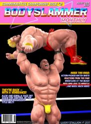 Bodyslammer Monthly (Promo #2) by lucky-stallion