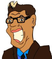 Gok Wan caricature by Young-Freddy