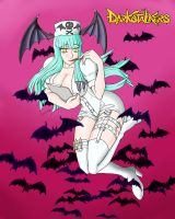 Halloween Morrigan by Artman-eyt