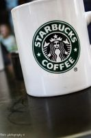 cup of starbucks by Flairen