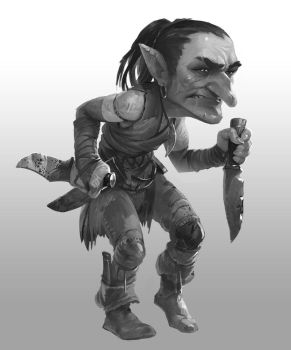 Goblin sketch by dron111