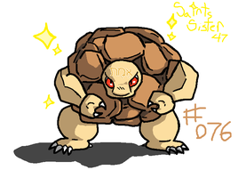 #076 Golem by SaintsSister47
