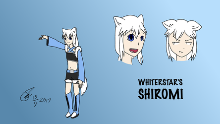 WhiterStar's Shiromi (but if I drew it) by Its-Joe-Time