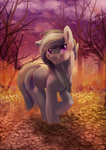 [Collab][Gift] Marblelous autumn by thediscorded