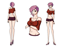 One Piece Ai fiche ref by Renarde83