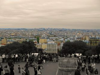 View over Paris by MJaaay