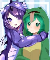 {P.C} ~Hoodie Hugs with ReiDess~ by IsoChi