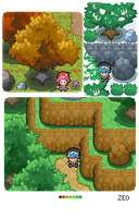 Pokemon RZ Graphics test. by Zeo254