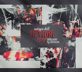 #1 Antique Doll texture pack by H1314106 by H1314106