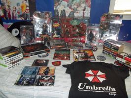 My Resident Evil Collection by Isobel-Theroux