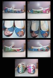 Queen Of Hearts Shoes by StaticSkies