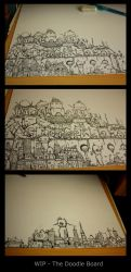 The Doodle Board by injuryordeath