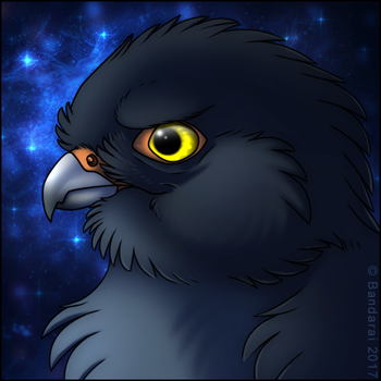 Falcon Icon by Bandarai